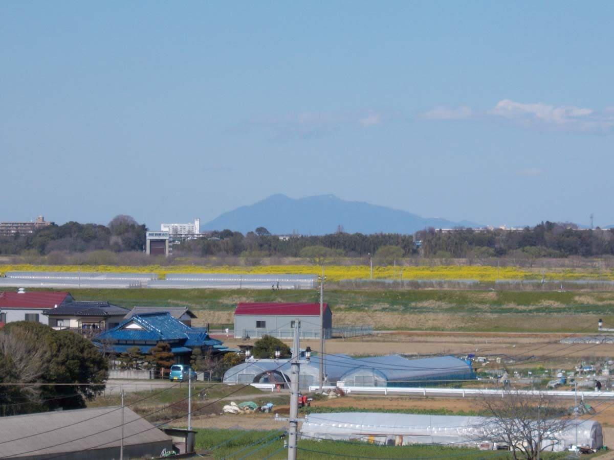 千葉県から見た筑波山