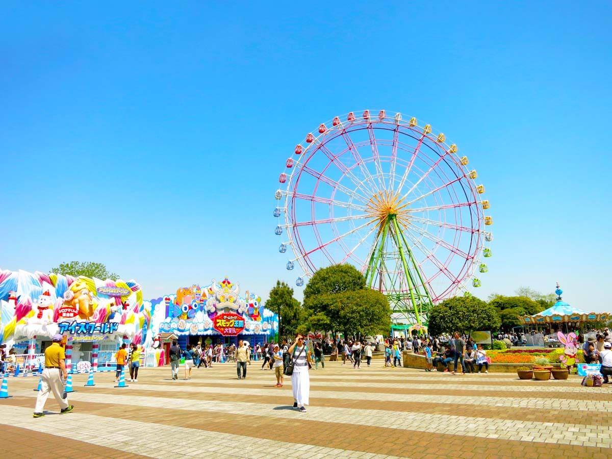 ひたち海浜公園の遊園地