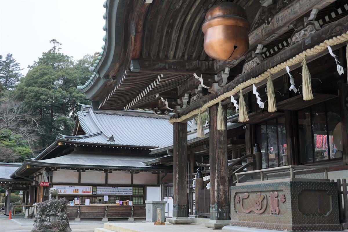 筑波山にある神社