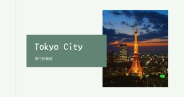 【旅行体験談】初めて、東京へ行って みた。