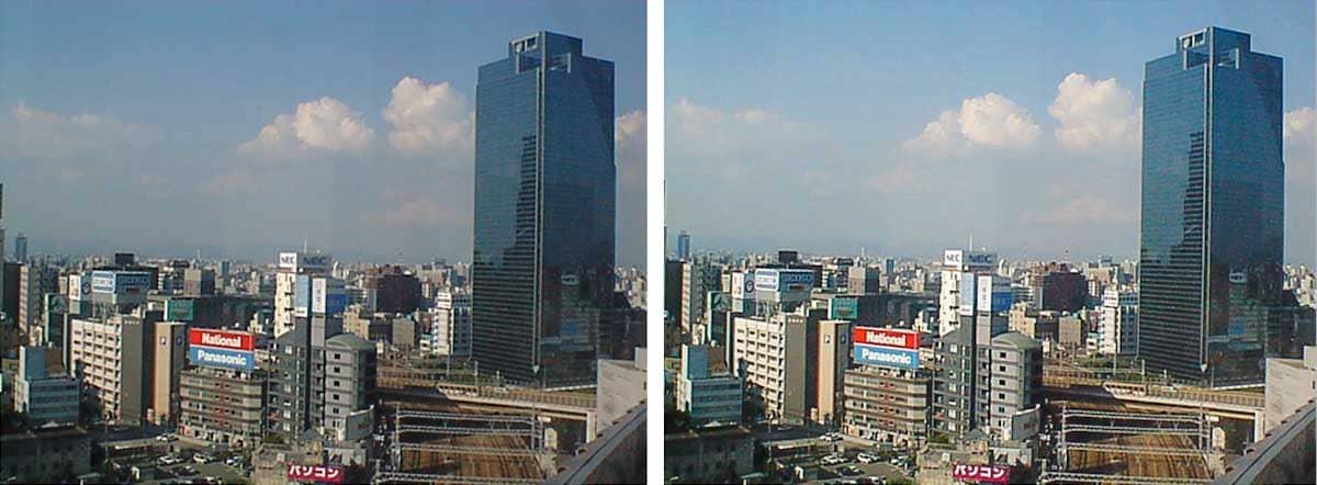 大阪の街の風景