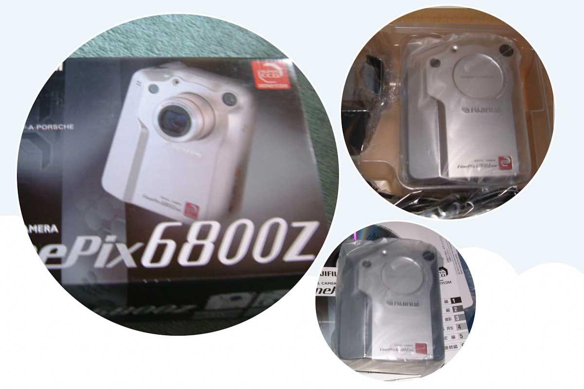 デジタルカメラのFinePix6800Z