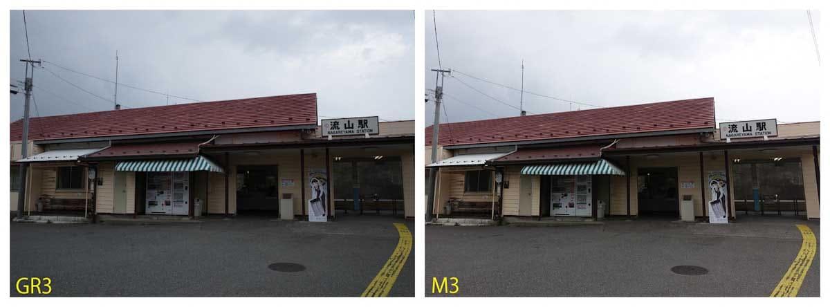 流山駅の駅舎