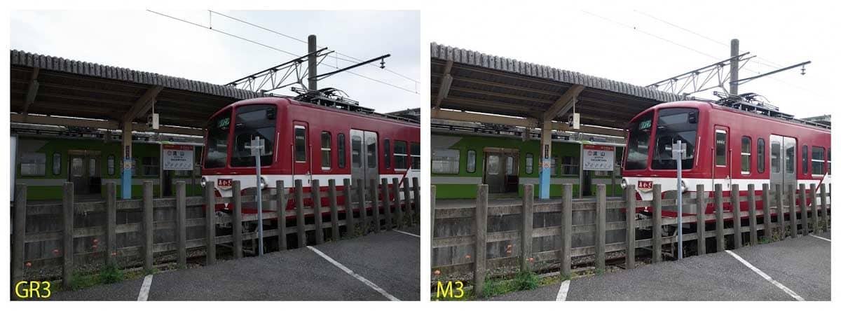 流山線の赤い電車