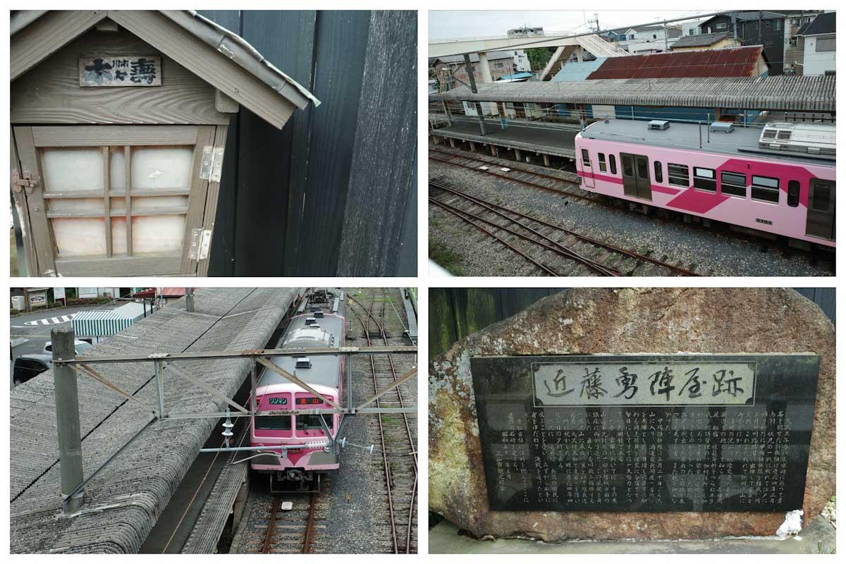 ポジフィルム調で撮影した電車
