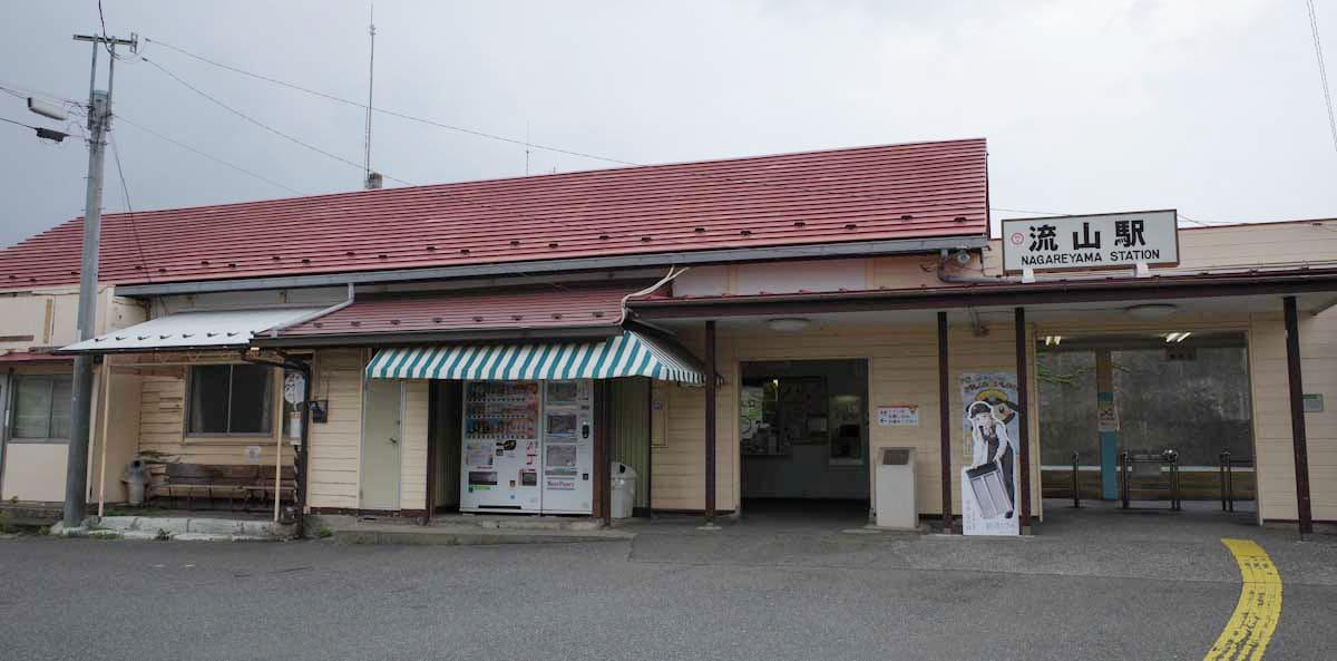 流山駅の建物