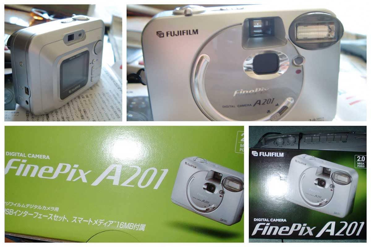 FUJIFILM FinePix A201のデジタルカメラ