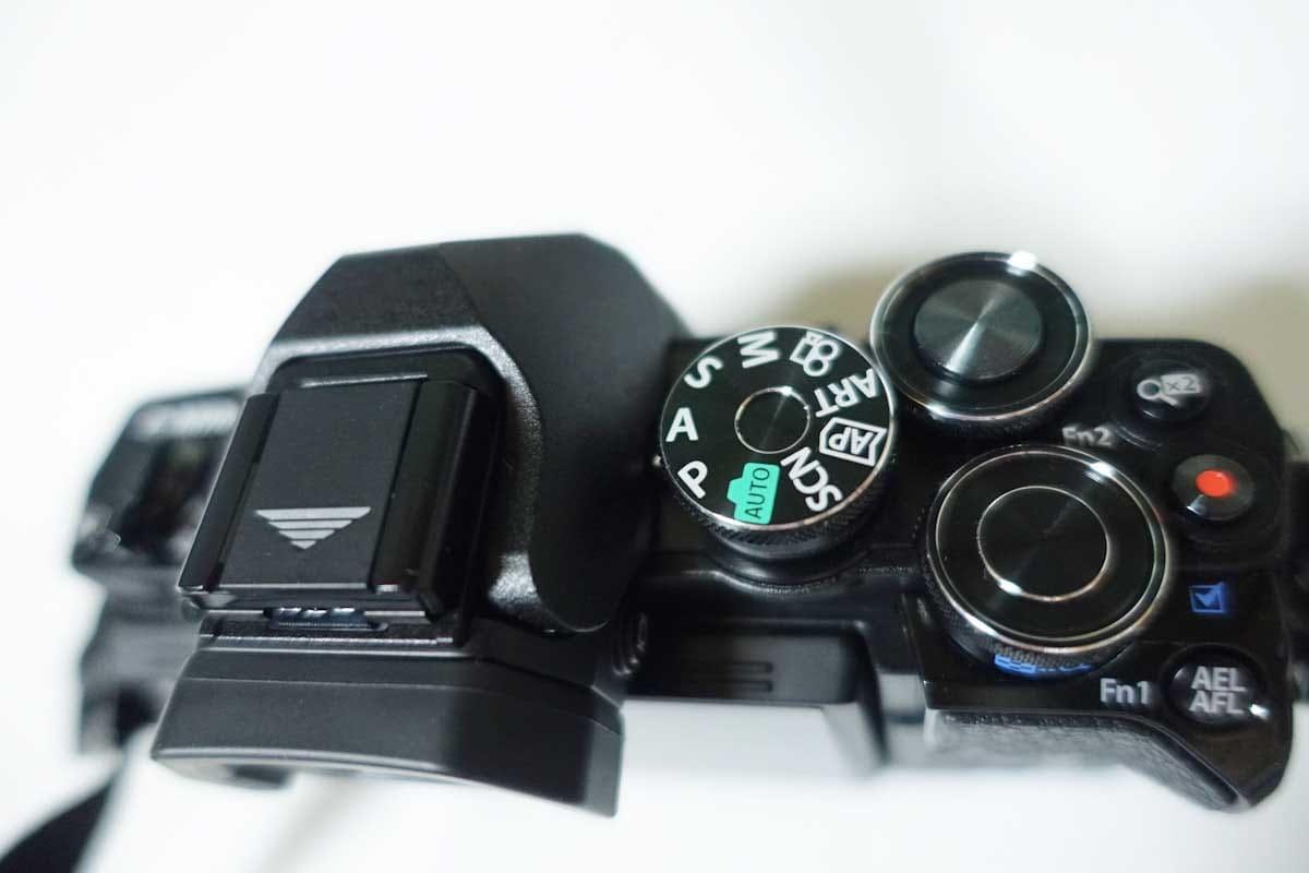 カメラの操作ボタン