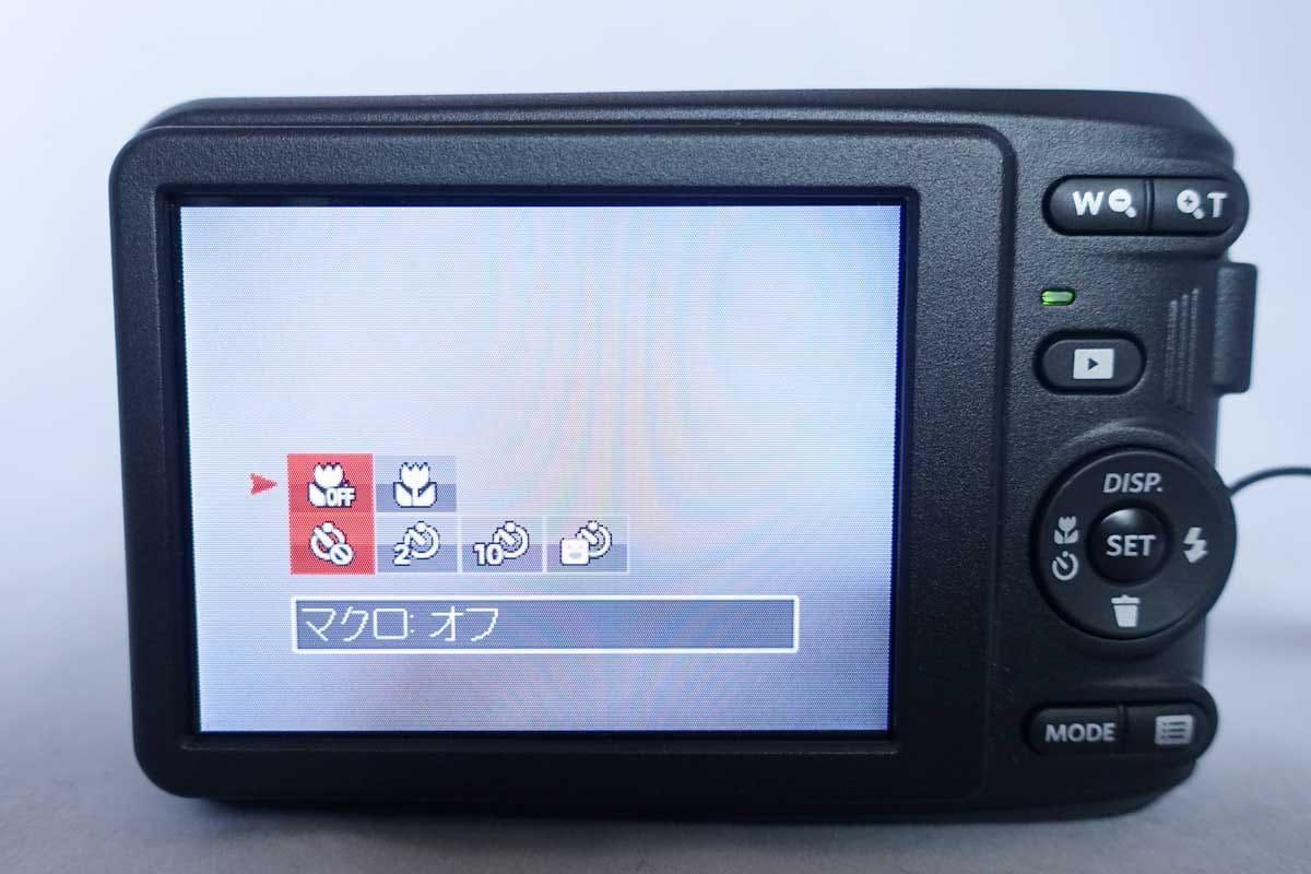 デジカメの液晶画面