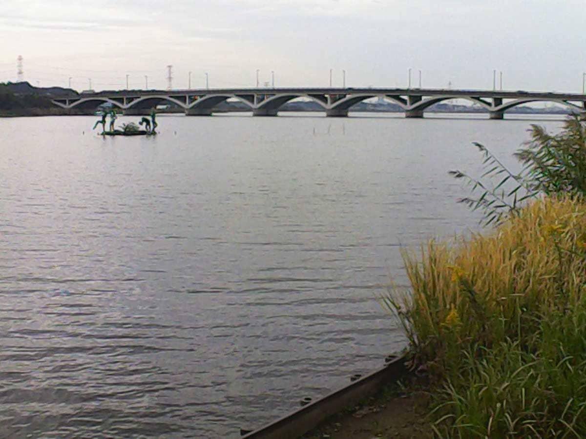 手賀沼と大橋