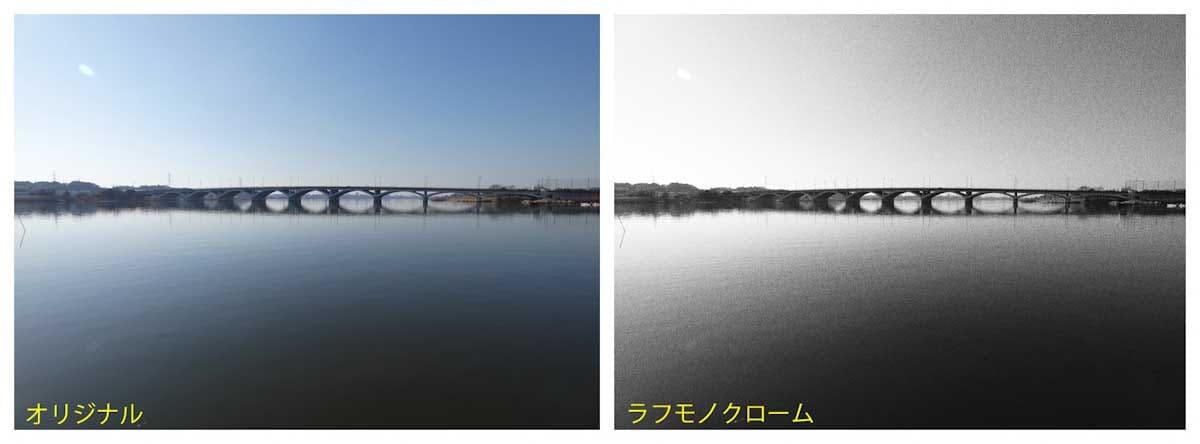湖から見える大きな橋