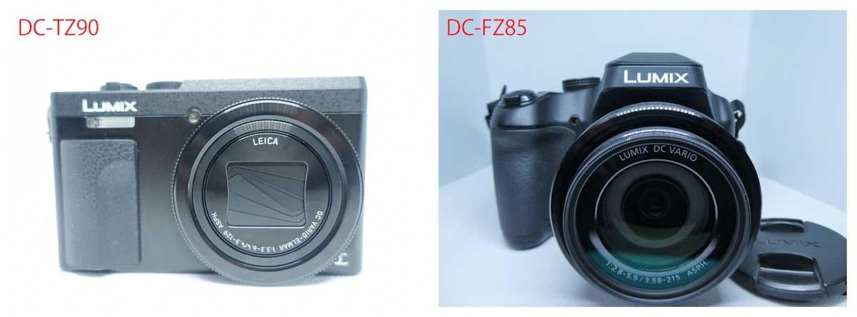 dc-tz90&fz85のカメラ