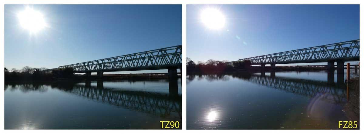 川と高架線