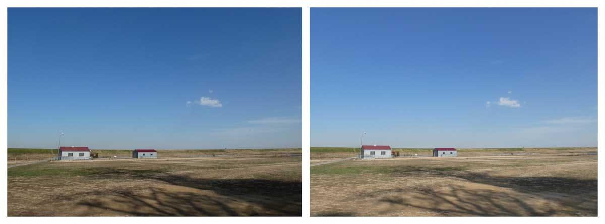 広々とした田園地帯
