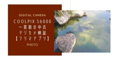 【クールピクスS6000】一昔前の中古デジカメ検証【フリマアプリ】