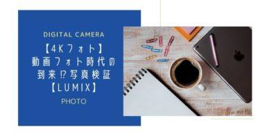 【4Kフォト】動画フォト時代の到来⁉写真検証【LUMIX】
