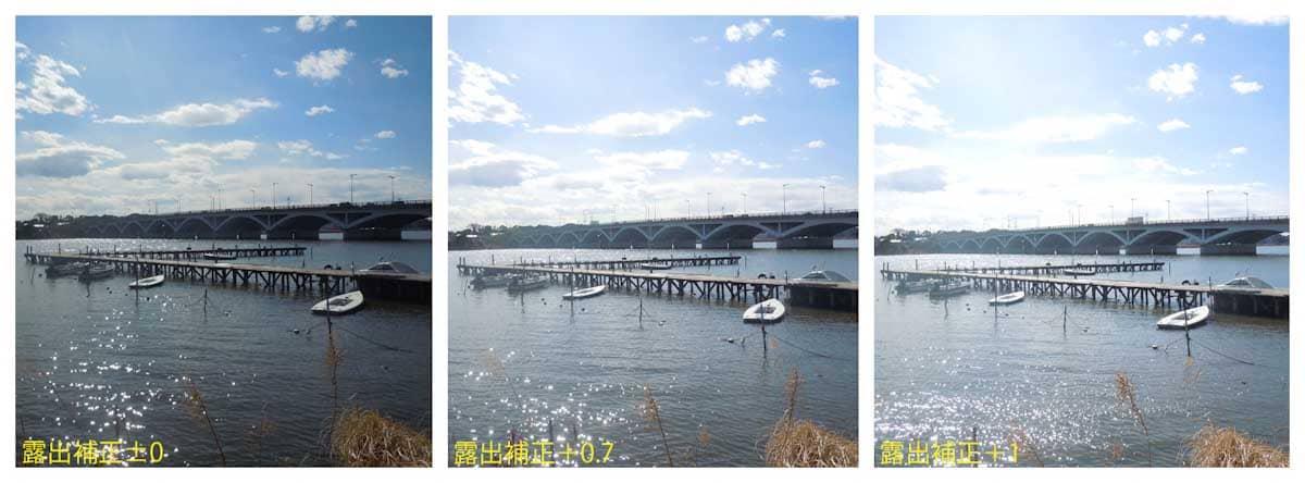 湖と大きな橋