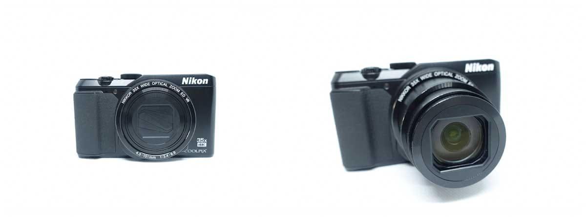 nikon coolpix a900のボディとレンズ